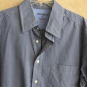 Eddie Bauer Large Tall button down shirt